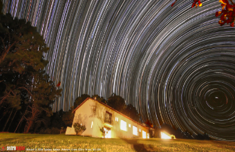2020 Tapalpa, Mexico. Star Trails